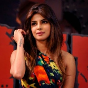 Indian Bollywood actress Priyanka Chopra looks on during a promotional event for the forthcoming Hindi film 'Gunday', directed by Ali Abbas Zafar and produced by Aditya Chopra, in Mumbai on late January 7, 2014. AFP PHOTO/STR