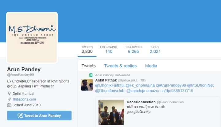 tweet-of-arun-pandey