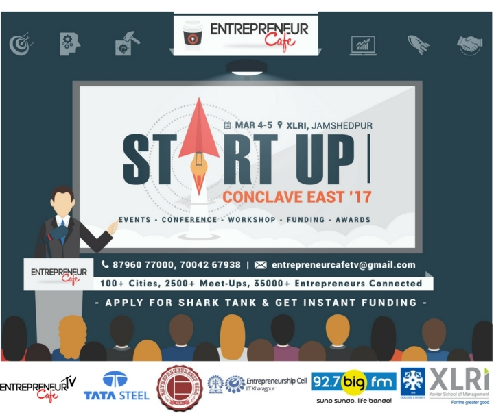 Start Up Conclave East, XLRI, Join XLRI
