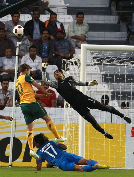 Subrata Paul in action, Subrata Paul - Jamshedpur FC