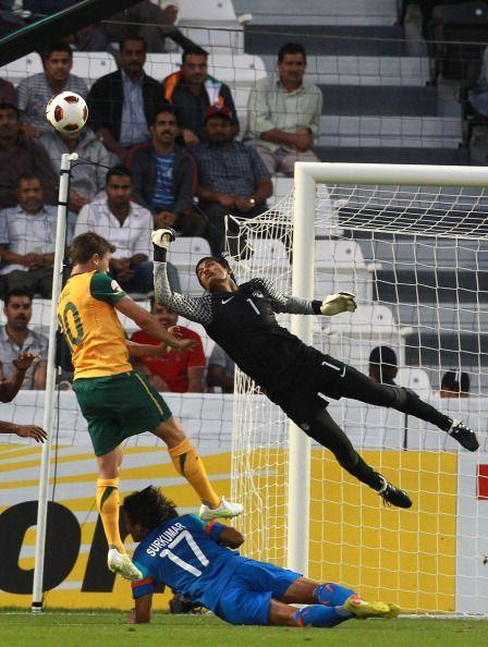 Subrata Paul in action, Subrata Paul - Jamshedpur FC